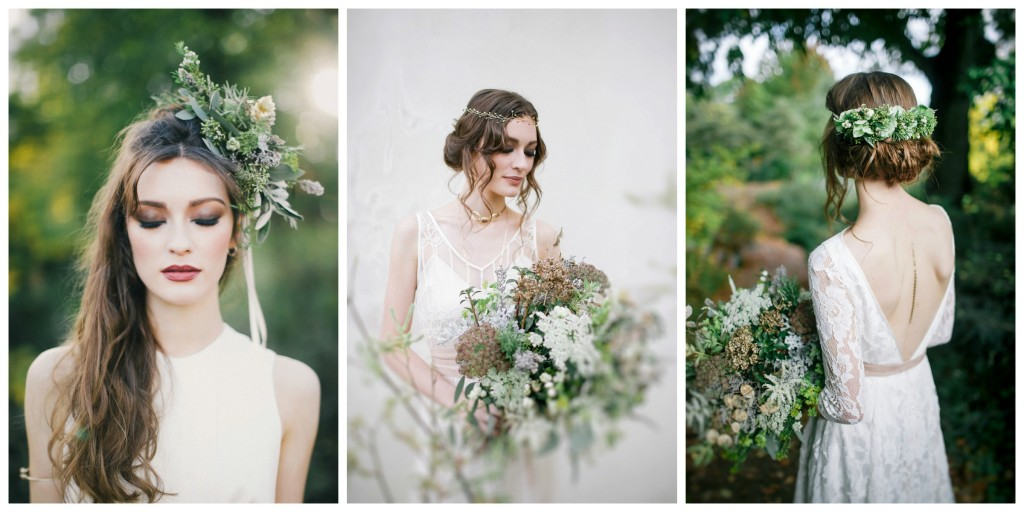 Bohemian Inspired Photoshoot - Kate Halfpenny & Flowers