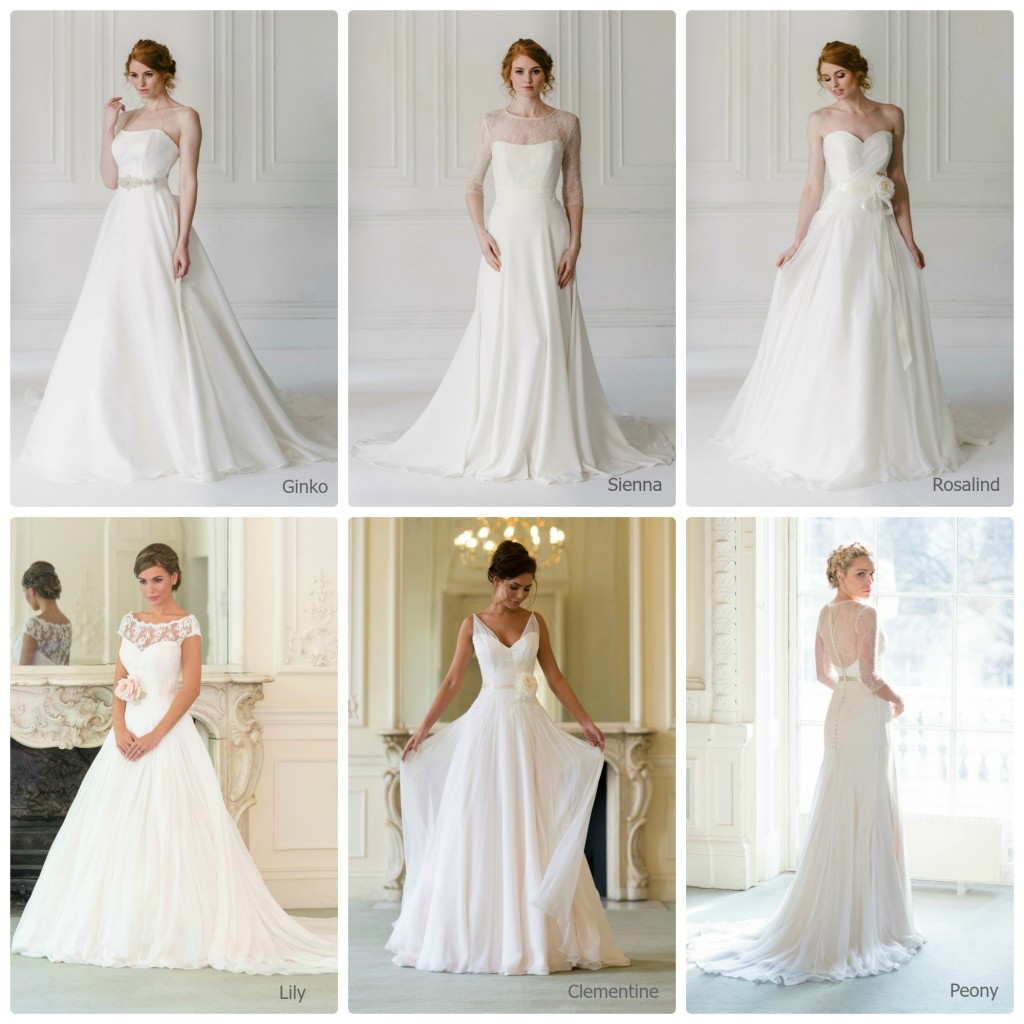 Naomi Neoh Wedding Dress Sale - Dress Collage