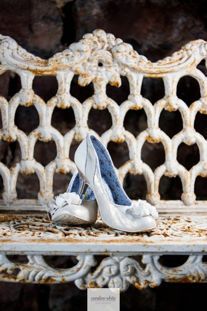 Real bride laura by Augusta Jones - Irregular choice shoes