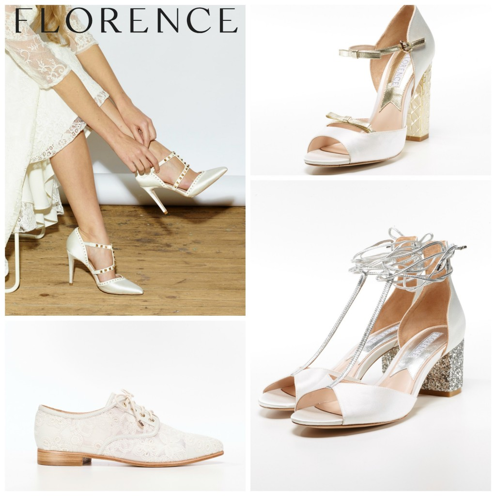 Florence wedding shoes at Cicily Bridal