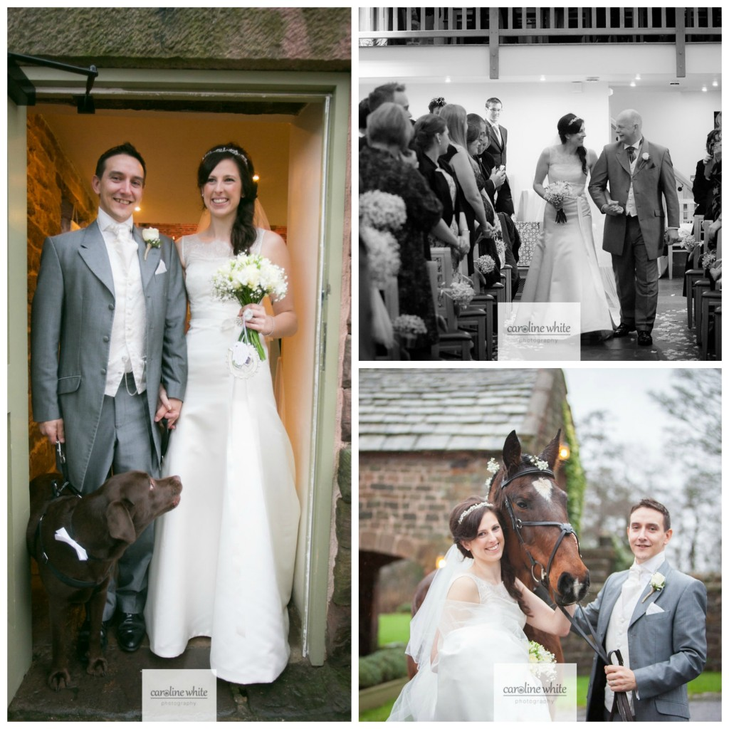 Real bride laura in Augusta Jones - Collage with Animals