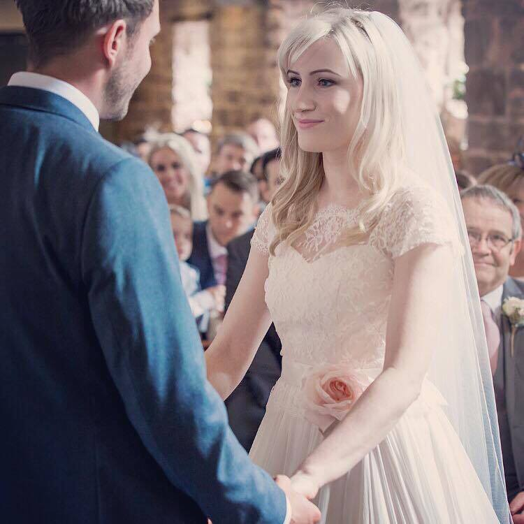 Real Bride Natalie wears Fleur by Naomi Neoh - Fleur dress