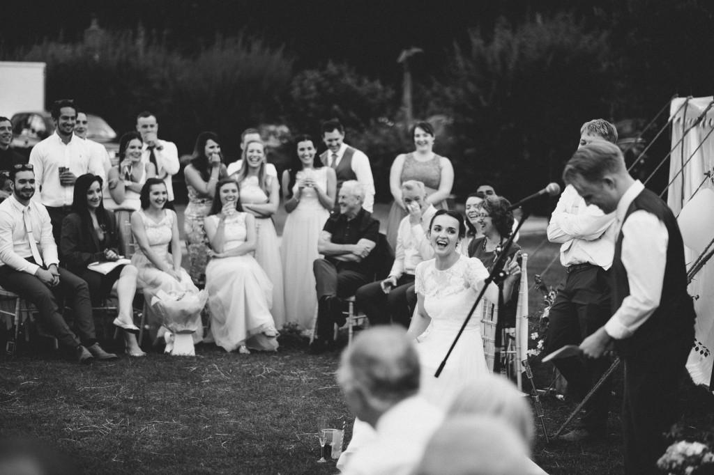Olivia Jesus Peiro Real bride - speeches image