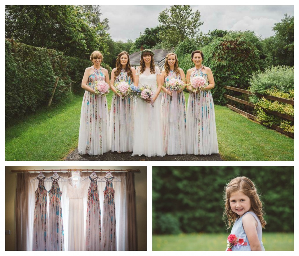 Real Bride Natalie in Jesus Peiro - Bridesmaids ASOS