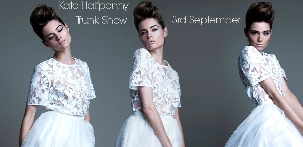 Kate Halfpenny Trunk Show at Cicily Bridal