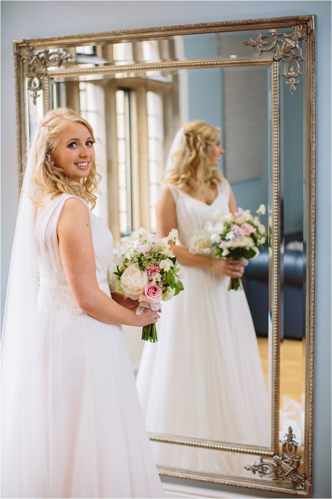 Naomi Neoh real bride Clementine Mirror Reflection image