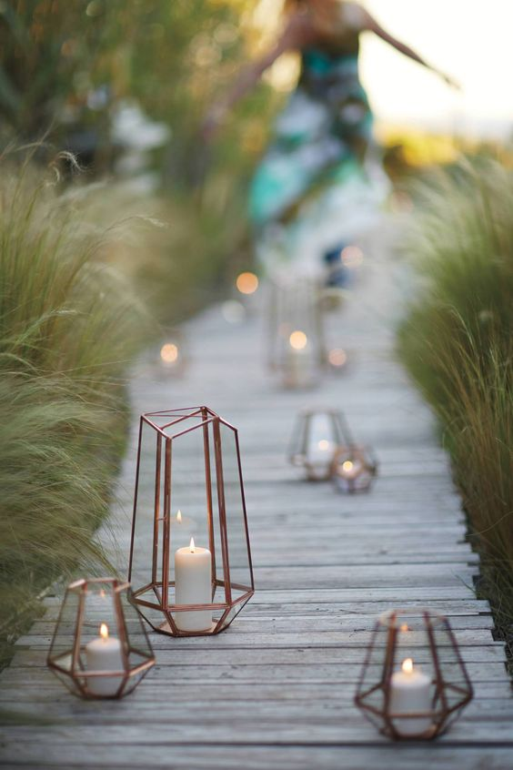 Wedding Metallics To Shine Or Not To Shine - Cicily Bridal - Copper Lantern