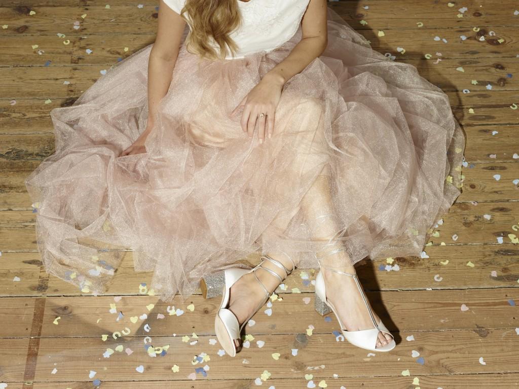 Florence Lindsey Glitter Heel