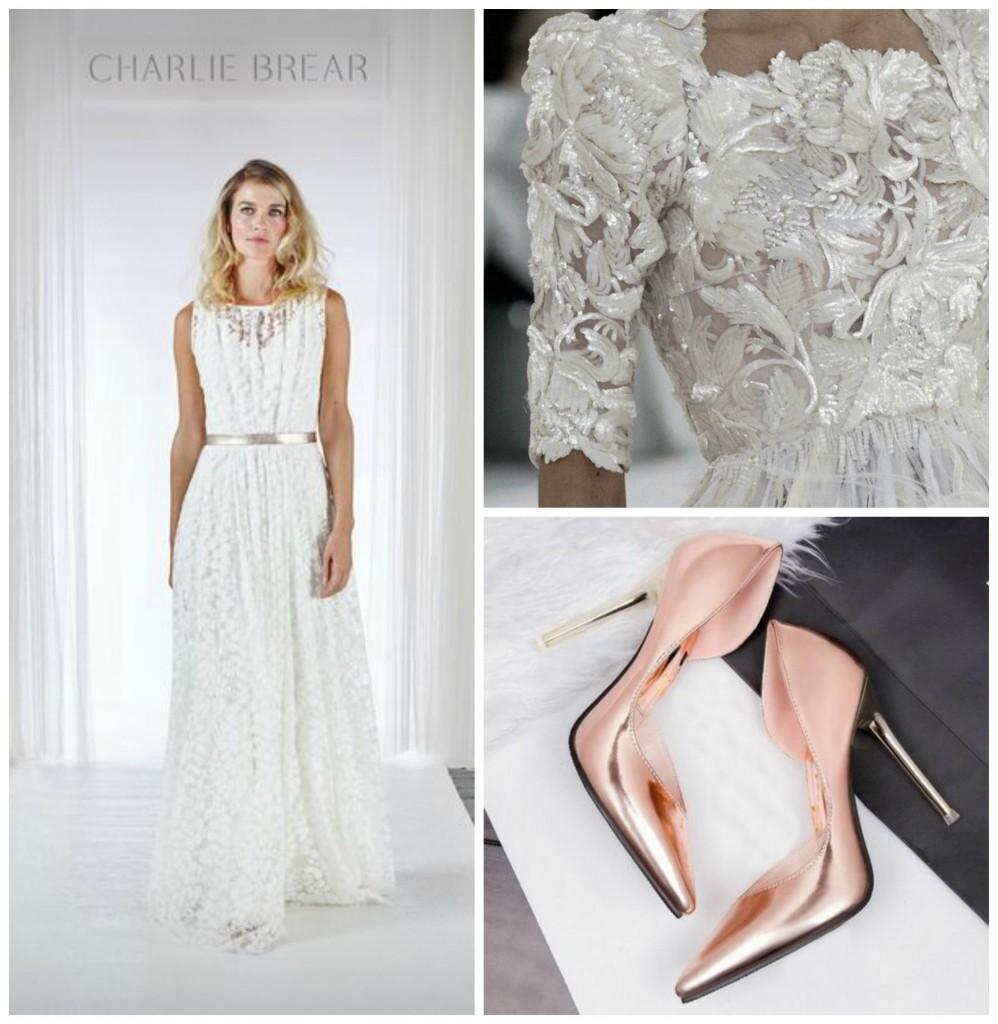Wedding Metallics - To Shine Or Not To Shine - Cicily Bridal - Copper - Wedding Trend