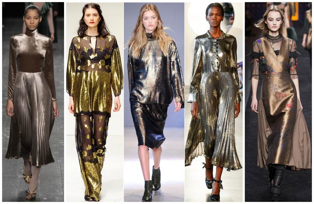 Wedding Metallics - To Shine Or Not To Shine - Cicily Bridal - Vogue Metallics