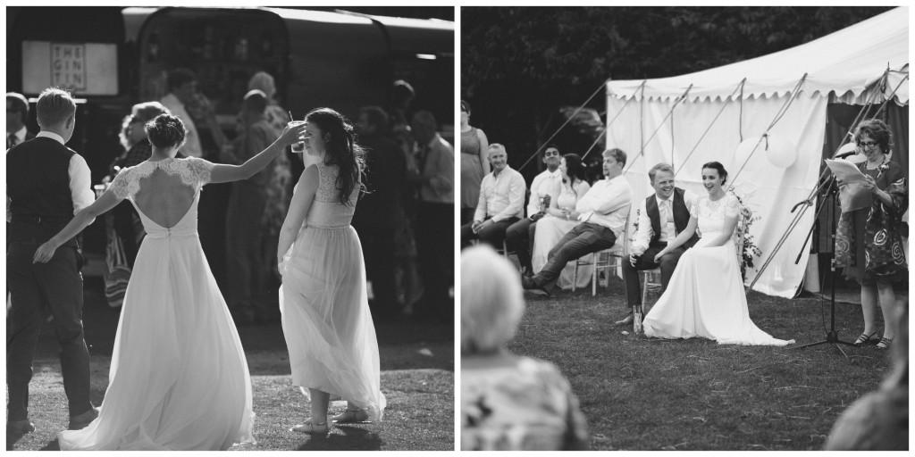 Real Bride Olivia - marquee outdoor wedding