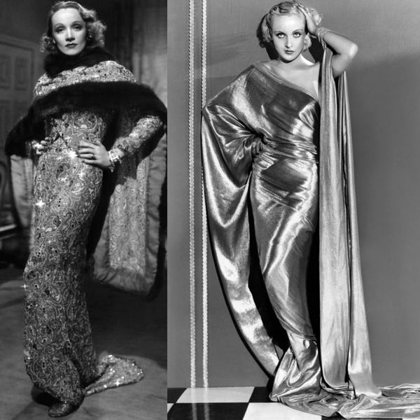 Eliza Jane Howell and the bias cut dress - MARLENE-DIETRICH-CAROLE-LOMBARD